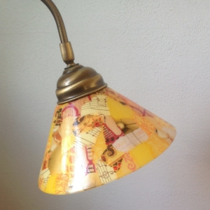 Bureaulamp, in opdracht